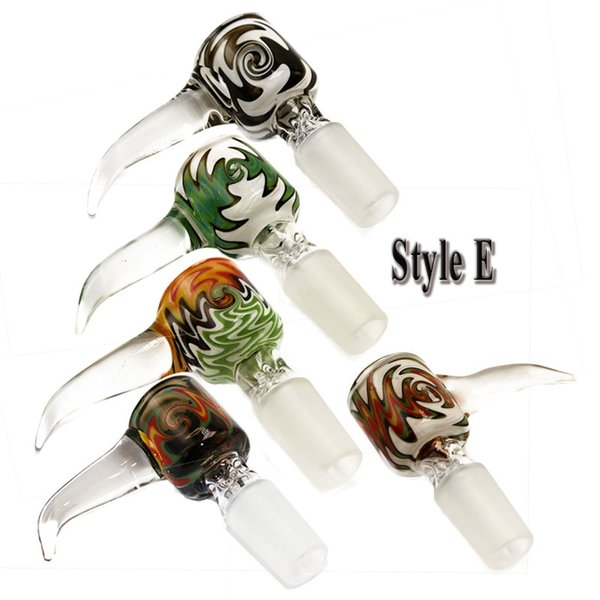 style E 14mm male with mixed color
