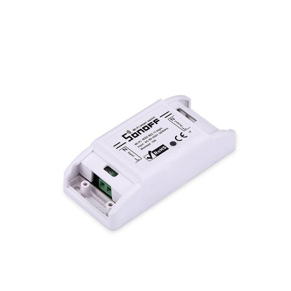 Sonoff Basic Wifi Switch Domotica senza fili Domotica Light Smart Home Automation Relay Module Controller Lavora con Alexa