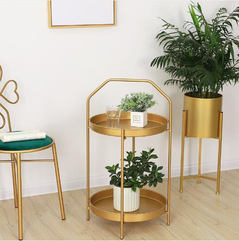2019 Bedside Receives Double Edges Modern Simple Bedroom Bedside Receives  Decorations Of Double Layer Living Room Hand Held Small Tea Table Hotel  From ...