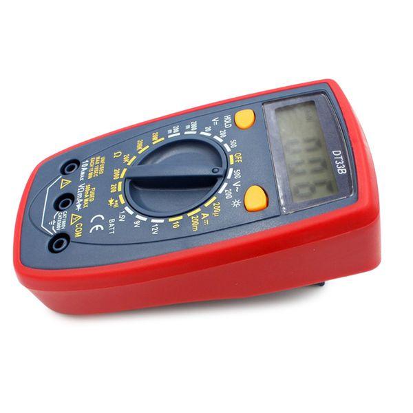 Recém Medidor Multímetro Digital AC DC Tensão Resistência Atual Durável Tester Para Eletricista Reparação XSD88
