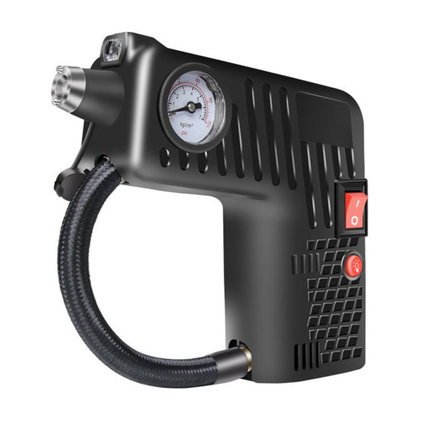 top popular New Upgrade Mini Portable Electric Air Compressor Multi-function Pump Car Tire Inflator Pump Tool 12V Free Shpping Auto Accessories 2021
