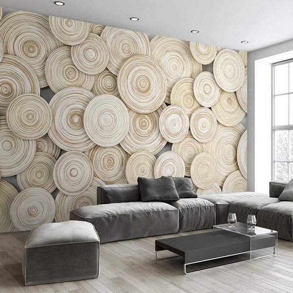 Wall Covering Ideas For Living Room.Large Custom Mural Wallpaper Modern Design 3d Wood Texture Living Room Tv Background Wall Decorative Art Wallpaper Wall Covering High Res Wallpaper