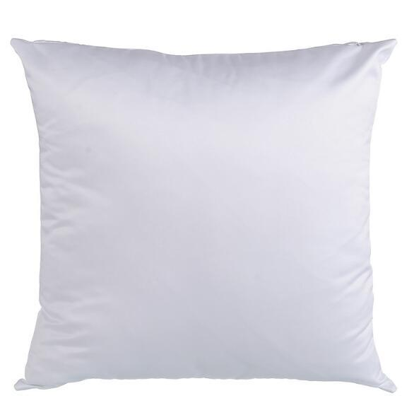 best selling White Sublimation Pillow Case Hot Heat Print Blank Pillow Covers without insert bolster 40*40CM 45*45cm square DIY plillow Cushion FFA3458B