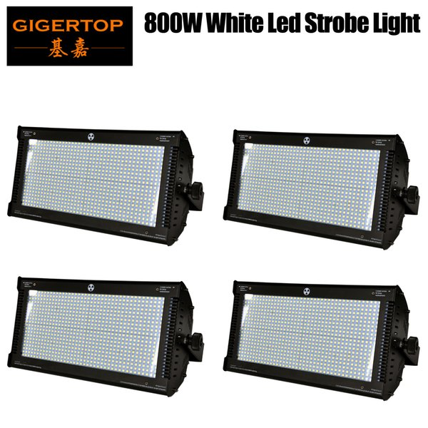 4 X TIPTOP ED DMX Strobe Light 800W White Flash Party DJ Disco Club Bar Holiday Wedding KTV Sound Activate Stage Lighting Effect