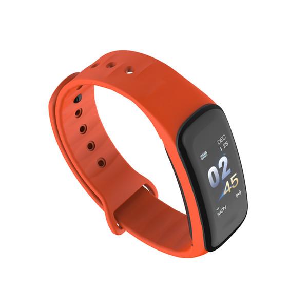 Fitness Armband C1 Smart Armband Sport Überwachung Schlaf Überwachung Smart Armband IP67 wasserdicht sitzende Erinnerung für Samsung Android