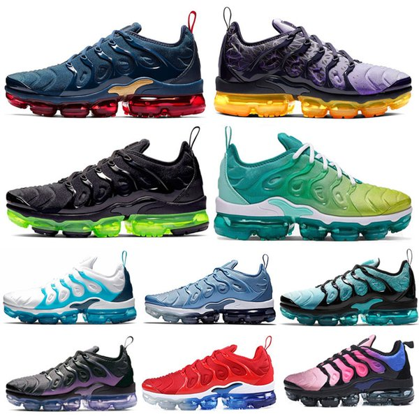 2020 running Shoes for Mens Plus black volt Spirit Teal Game Royal Midnight Navy Laser Orange bumblebee mens trainers Sports Sneakers 36-45