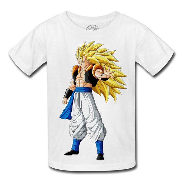 Satın Al T Shirt Enfant Dragon Ball Z Anime Manga Japonya Fusion