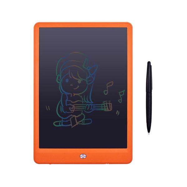10 inç Yazma Tablet LCD Çizim Kurulu Renk Yüksek Işık Tahta Kağıtsız Not Defteri Memo Çocuklar için Yükseltildi Kalem Hediye ile El Yazısı Pedler