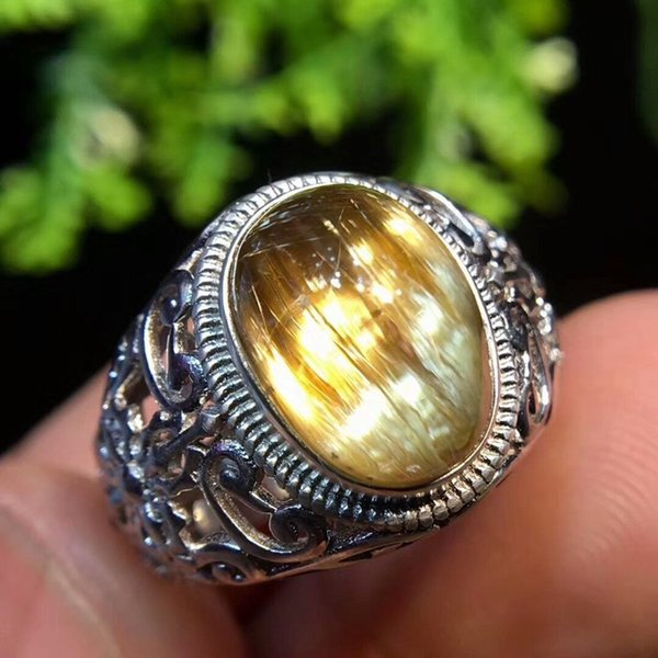 bague or quartz rutile