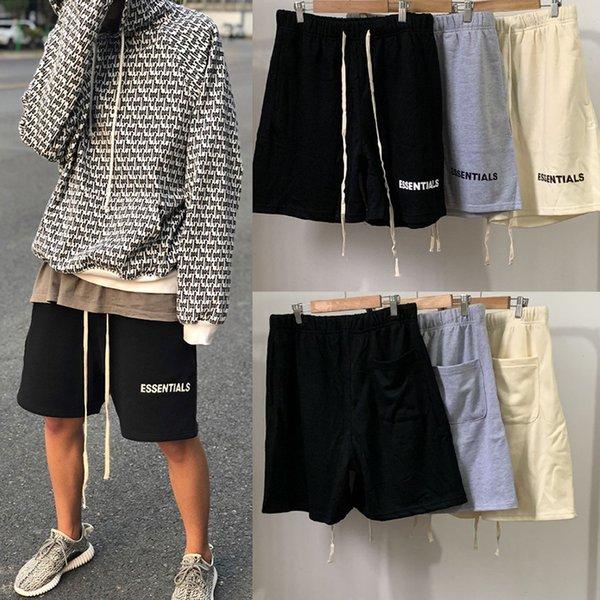 Fear Of God Mens Designer Calças Curtas Moda Mens Casual Calças Essentials Shorts de Verão de Alta Qualidade Shorts Casuais