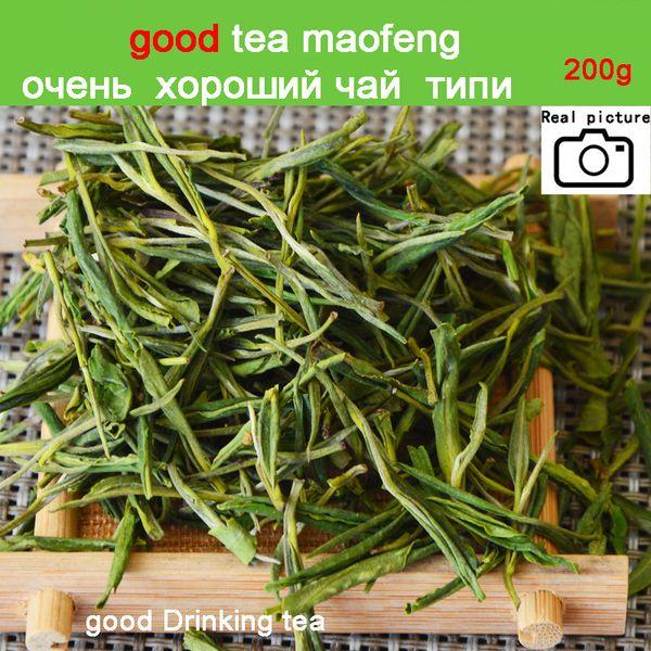 SALE 2018 New 200g Premium!!!China Organic White Tea Green Tea Super Anji baicha needle Tea for Health Care Beauty and Slim