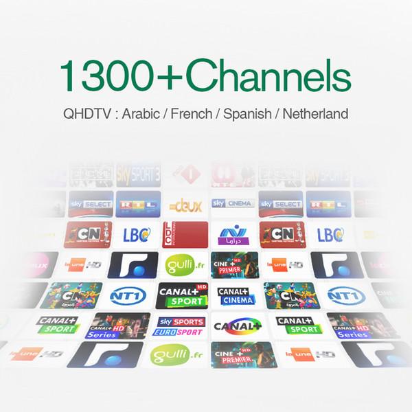 Best QHDTV Arabic Sports Italy UK Germany 1300+ Europe IPTV Arabic Iptv Channels Streaming IPTV Account Apk Work on Android