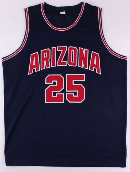 new style 6b3ea 213da 2019 Steve Kerr #25 Arizona Wildcats College Retro Basketball Jersey Men'S  Stitched Custom Any Number Name Jerseys From Yufan5, $23.35 | DHgate.Com