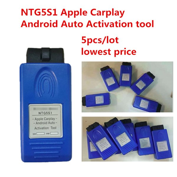 5pcs/lot NTG5 S1 Apple CarPlay and Android Auto activation tool safer way to use your iPhone/Android Phone for mercedes benz