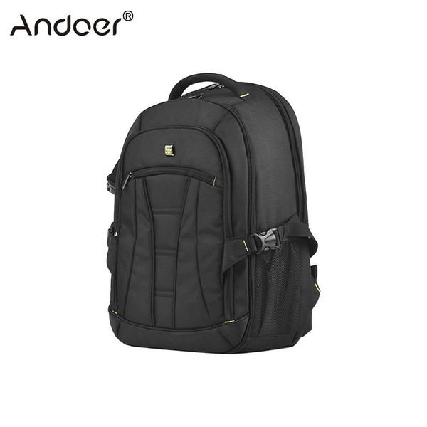 heap Camera/Video Bags Andoer Professional Large Capacity DSLR Camera Backpack Waterproof Shockproof Travel Tablet Laptop Shoulder Bag w/...