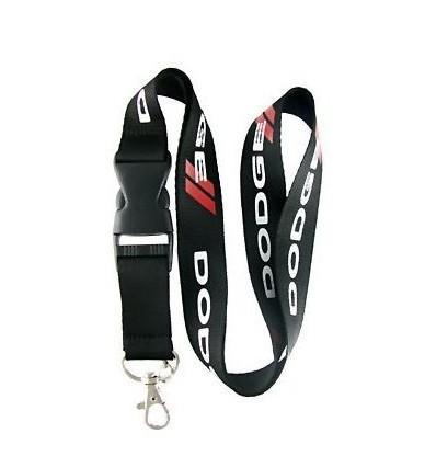 DODGE Logo Car Keychain Racing Keyching Phone Lanyard Card Holder Accessori