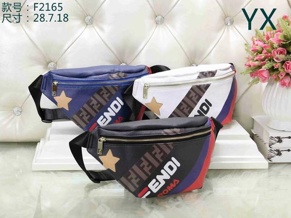 Leather Fashion Waist Bags Unisex Fanny Pack bags Bum Belt Bags Women Money Phone Handy Waist Purse Solid Travel Shoulderbags