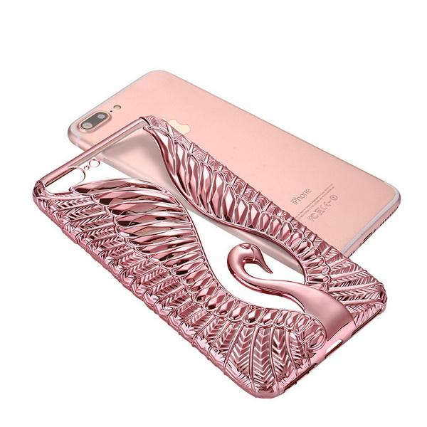 Cell Phone Cases iPhone New Swan Love Diamond Applicable to Apple iPhone 7p mobile phone shell