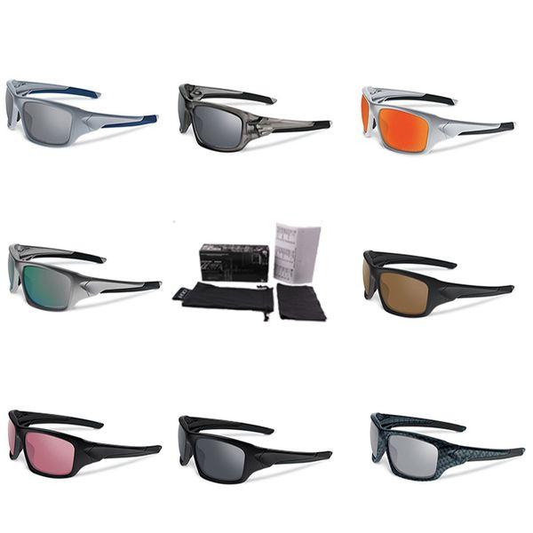 Quadratische Beschichtung Sonnenbrille Modemarke Designer Mirrored Brillen Polarisierte Klipp Auf Sonnenbrille Luxus Designer Straße Radfahren Goggle K27