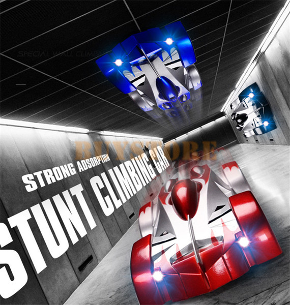 top popular HOT Sale RC Climbing Wall Car Remote Control Car Stunt Climber Sport Racing Cars Gravity Electric Toys 2.5G Four-way Remote Free Shipping 2020