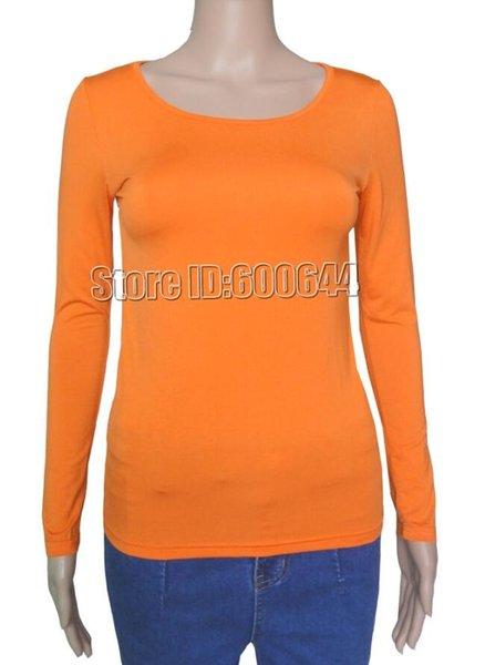 Orange Seulement Taille Unique