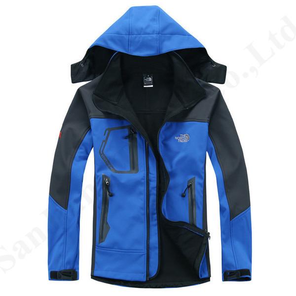 Марка NF Мужчины Ветровка Куртка Северной руна Coat Soft Shell Outwear Спорт Top Открытых ветрозащитные водонепроницаемые куртки Face Ткань C103007