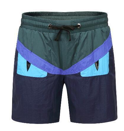 Поставка Италия стиль мужчины глаз печатных пляжные шорты лето хлопок мода мужской случайные короткие брюки дышащий пляж стволы размер M-XXXL