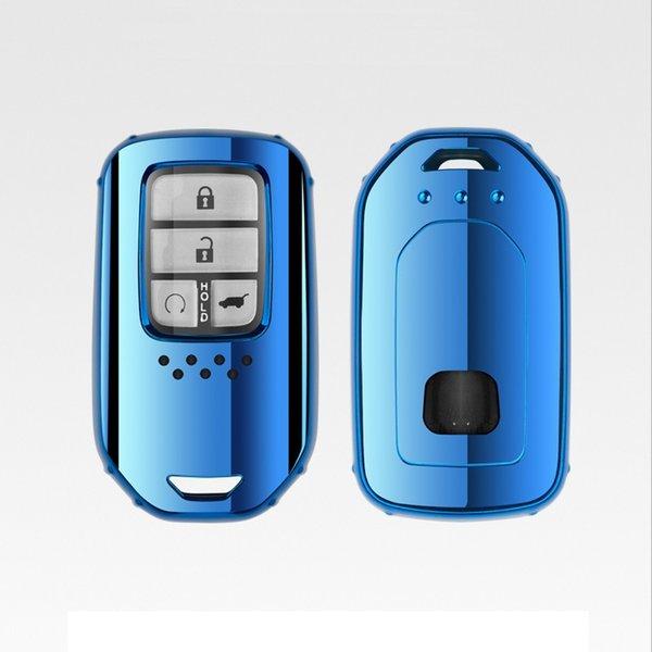 Patente TPU Car Auto Remote Key Case Cubierta de la carcasa para Honda Accord Civic CR-V City Jazz Elantra IX35 Santafe Car Accessories Car Styling