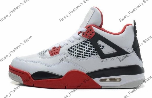 Fire Red 4s