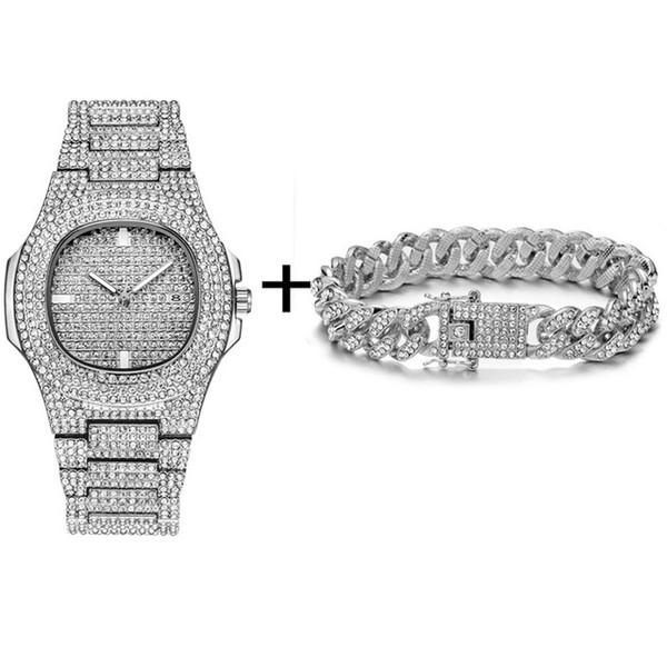 Reloj de plata de Bracelt