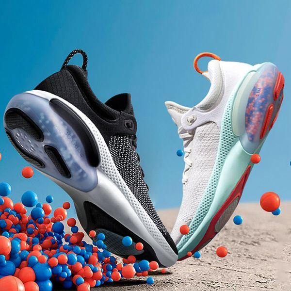 best selling 2020 Joyride Run FK Mens Women Running Shoes Triple Black White Platinum Racer Blue Designers Sports Sneakers Utility Size 36-45