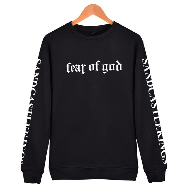 Fear of God Hoodies Mens Teenager Justin Designer Hoodies Bieber Sweatshirts Letter Print Sleeve O-neck Spring Autumn Mens Clothing