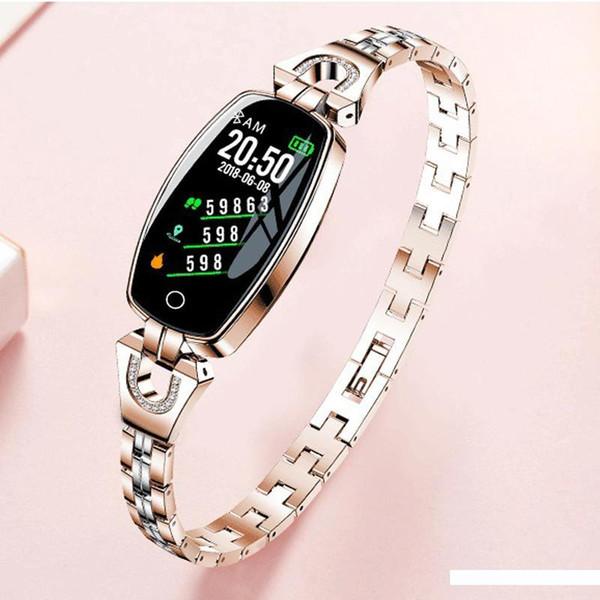 IP67 impermeabile intelligente orologio sincrono del telefono mobile multi-funzione orologio sportivo donna di marca Bluetooth signore elettronico