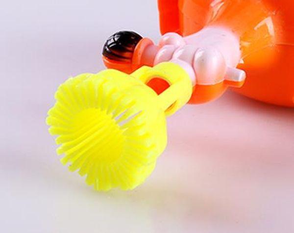 Cartoon Mini Bubble Gun Children's Toys Colorful Bubble Beach Toys