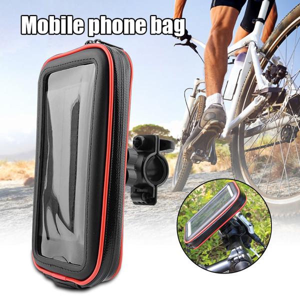 Universal bicicleta Telefone Mount Vida Titular Waterproof Telefone recém saco de armazenamento de bicicleta motocicleta guiador BN99