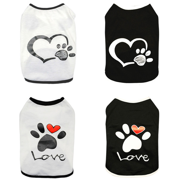Summer Pet Dog Clothes For Small Dog Pet Cat Clothing For Dogs Coat Jacket Chihuahua Costume Pet Vest T-shirt Apparel