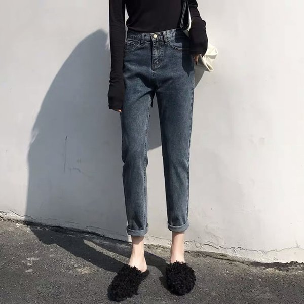 high waist jeans woman mom boyfriend jeans for women plus size denim Harem Pants streetwear womens clothing street style 2020 womens clothing street style 2020