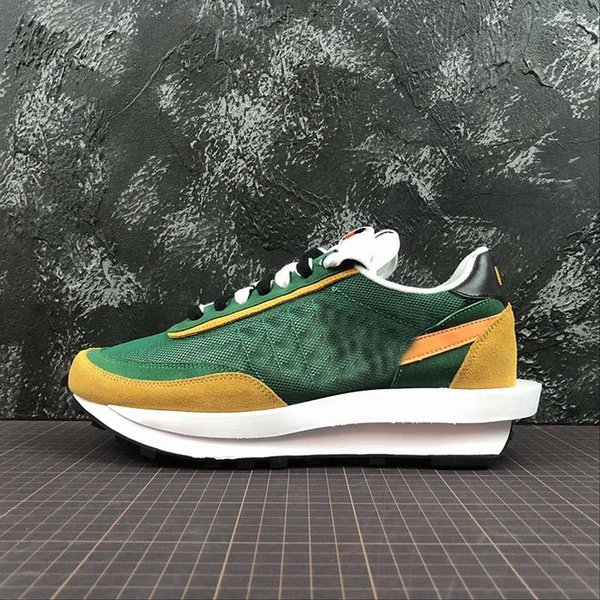 UNDERCOVER x Sacai LDV Waffle blue green athletic shoes For men fashion sneaker black white Camping Hiking running jogging trainer shoe
