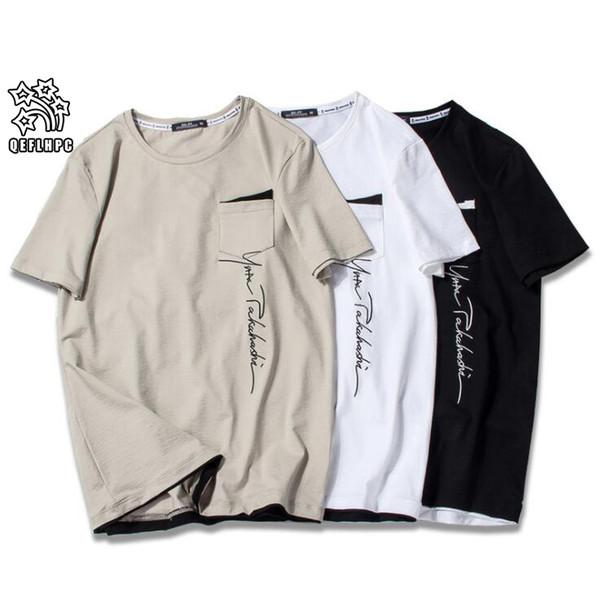 2019 Summer Brand Top Mens T-Shirt short sleeves black White T Shirt Men Designer t shirt Tee round neck fashion TShirt S3353