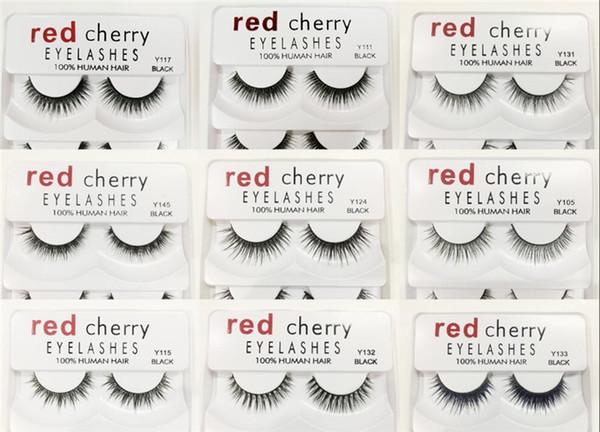 In Stock!! Red Cherry False eyelashes 5 pairs/pack 8 Styles Eyelash Natural Long Professional makeup Big eyes High Quality