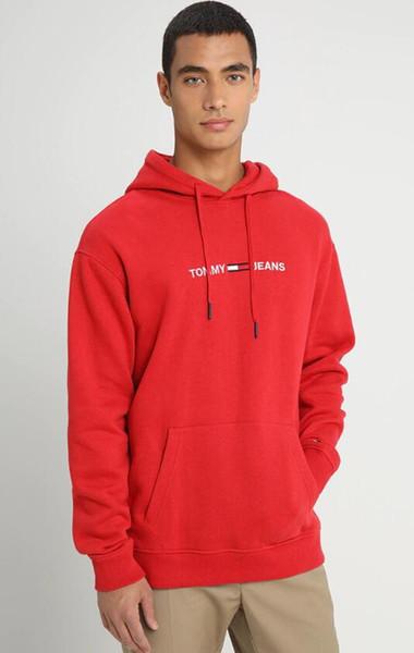 Sıcak satış kaliteli kazak tasarımcı marka erkek mektubu paris hoodies hoody KADıN streetwear kazak kazak süveter