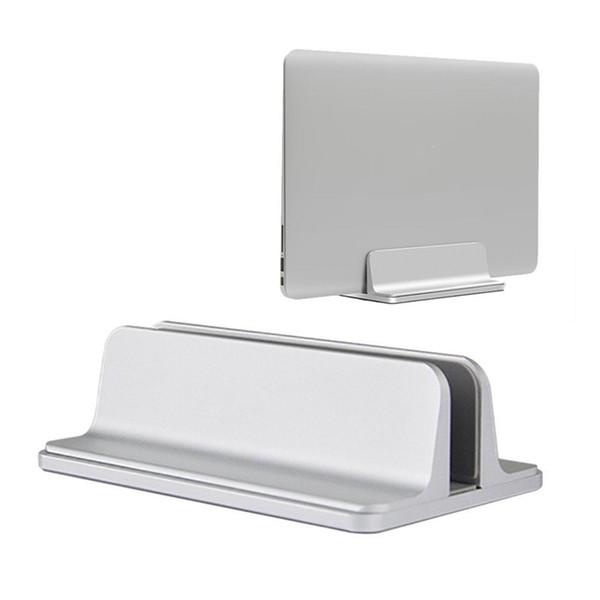 Supporto per laptop verticale in alluminio Supporto salvaspazio per desktop per notebook MacBook Pro Nuovo supporto per laptop design Supporto regolabile per dock
