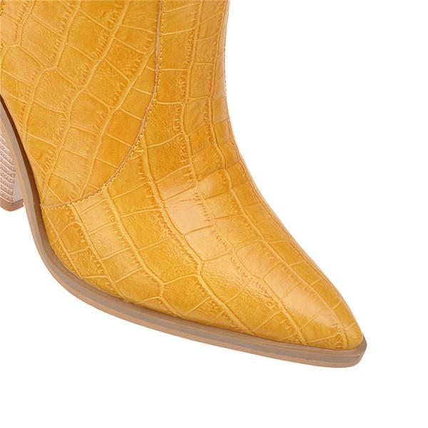 2019 lujo amarillo Borgoña botas mujer fetiche rodilla botas