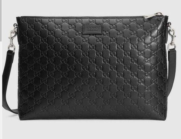2019 Signature soft messenger 473882 Men Messenger Bags Shoulder Belt Bag Totes Portfolio Briefcases Duffle Luggage