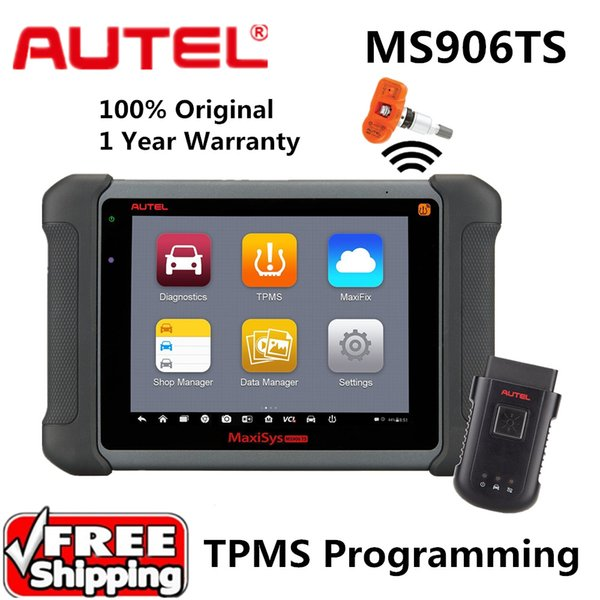 Free Ship Autel MaxiSys MS906TS Diagnostic System TPMS programming tool ECU Coding OE-level Diagnostic Scanner Better than MS906