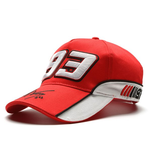New Moto.gp Series Star Identical Ant Embroidery Motorcycle Hat Outdoor Baseball Cap Sports Racing Cap Y19070503