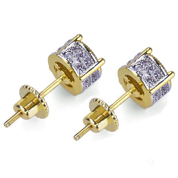 Designer Earrings Jewelry Fashion Women Mens Earrings Hip Hop Diamond Stud Earings