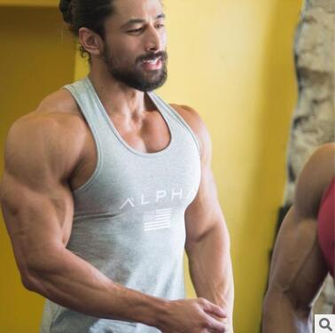 2019 New Brand vest bodybuilding clothing and fitness men undershirt tank tops tops cotton sleeveless shirt muscle vest