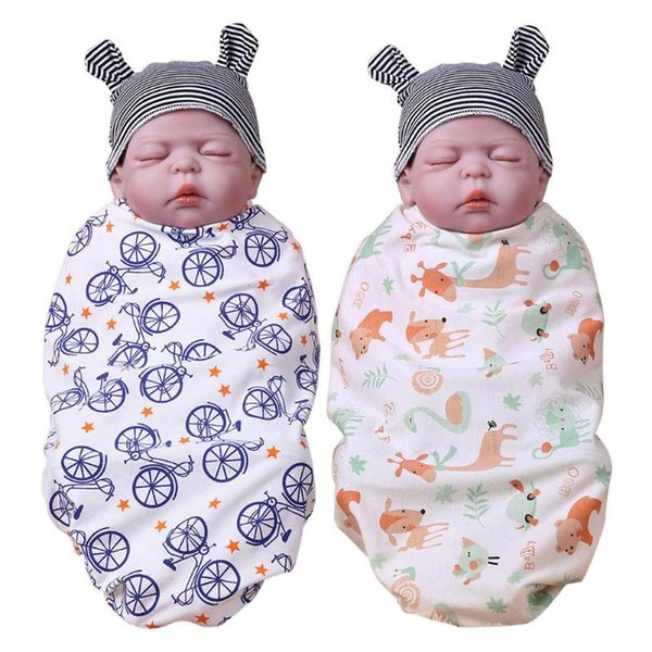 Soft Newborn Blankets Cotton Baby Swaddles Bath Gauze Infant Wrap sleepsack Stroller cover Play Mat Photo Props