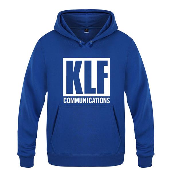 El KLF Comunicaciones sudaderas con capucha de los hombres 2018 Mens Fleece Pullover sudaderas